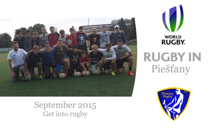 Get into rugby Piestany