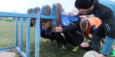 rugby slovakia trening