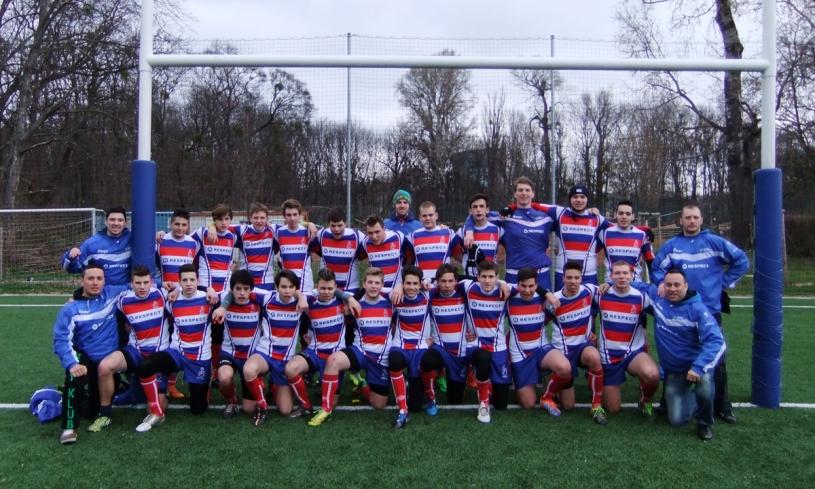 Slovak rugby U18 vs RC Donau