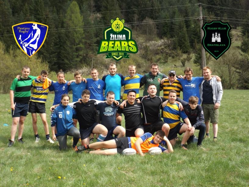 Rugby Klub Bratislava Zilina bears Piestany rugby Slovakia sport trening team