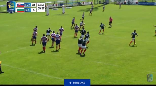 Slovakia 36 – 12 Bulgaria | Rugby XV Juniors U18