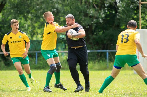 Richie - trainer fowards at the Rugby Klub Bratislava, and player