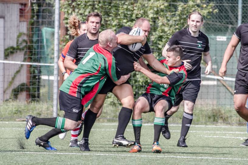 Giuseppe Porcaro Rugby Klub Bratislava Slovakia sport trening team
