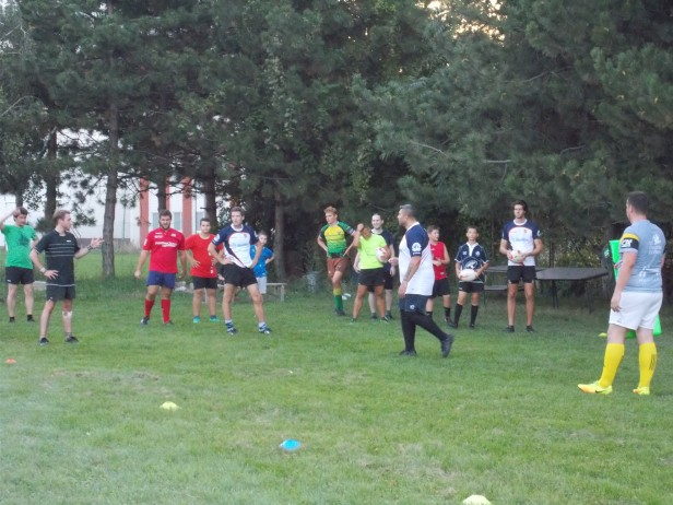 Rugby Bratislava - training drills