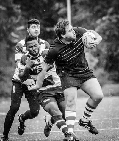 Giacomo Landro - best player of the Rugby Klub Bratislava