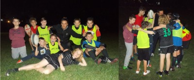 Children rugby training - Rugby Klub Bratislava