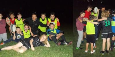 Children rugby training - Rugby Klub Bratislava Slovakia