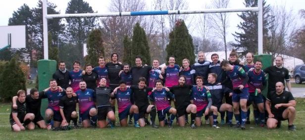 Stade de Vienne vs Rugby Klub Bratislava - rugby XV
