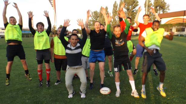 Rugby Klub Bratislava - 2015 first training ever