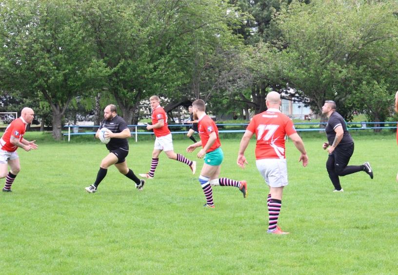 Rugby klub Bratislava Slovakia zapas