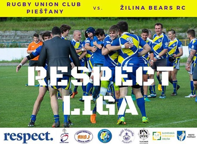 Rugby Slovakia liga sport RUC Piestany Zilina Bears RC