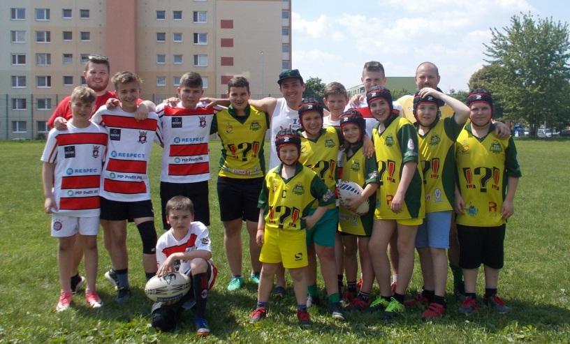 rugby trening sport deti