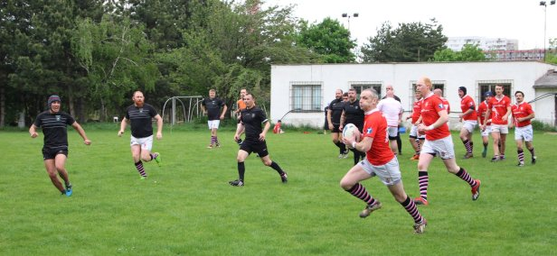 Rugby Klub Bratislava 33 - 68 Salcombe RFC England - Rugby Tour 03