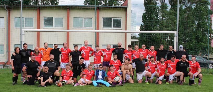 Rugby Klub Bratislava 33 - 68 Salcombe RFC England - Rugby Tour