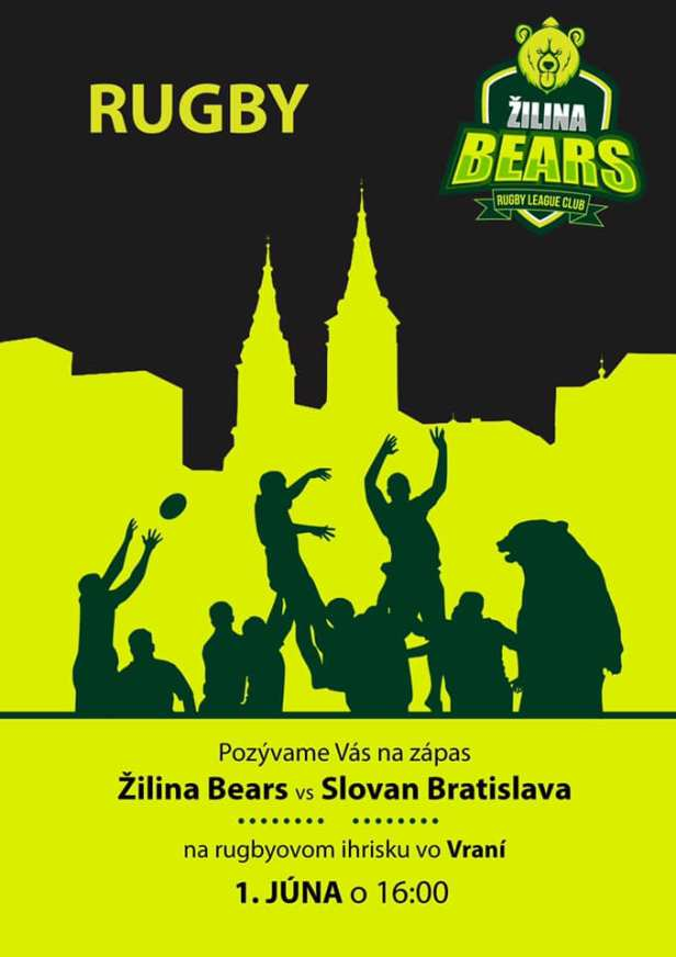 Rugby Zilina vs Slovan Bratislava - Slovakia