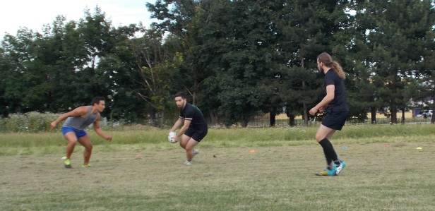 Rugby Klub Bratislava - trening