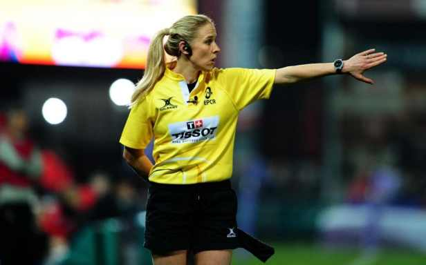 Woman referee
