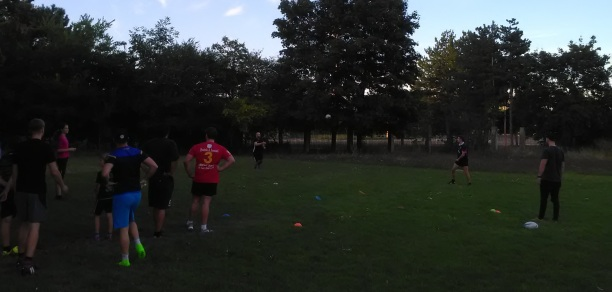 Rugby Klub Bratislava Slovakia trening