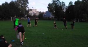 Rugby Bratislava Slovakia trening
