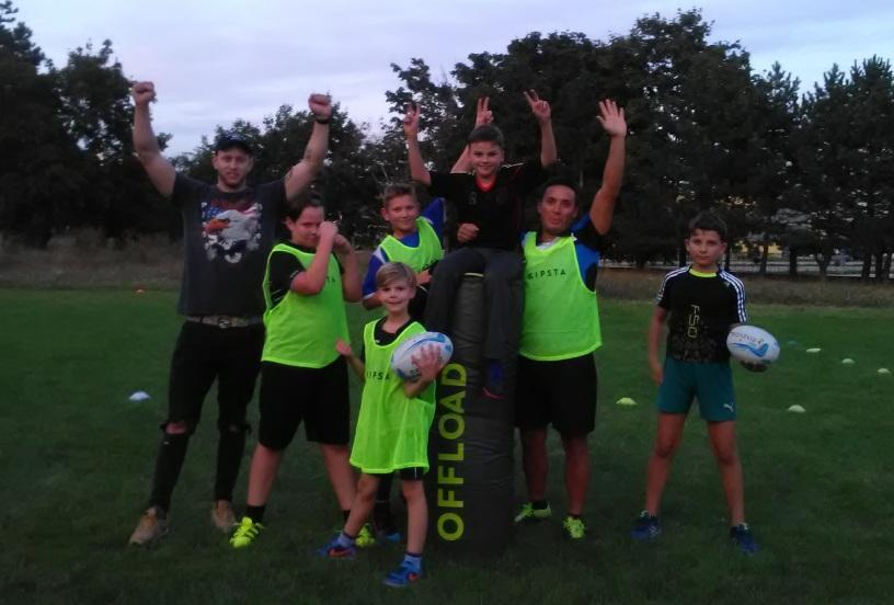 Rugby Bratislava deti children trening