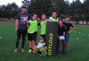 Rugby Bratislava - deti - children slovakia trening