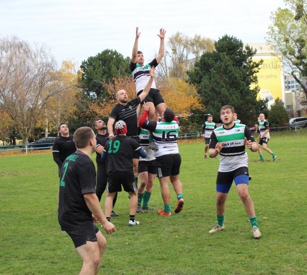 Report: Rugby Klub Bratislava vs Rugby Club Dragon Brno