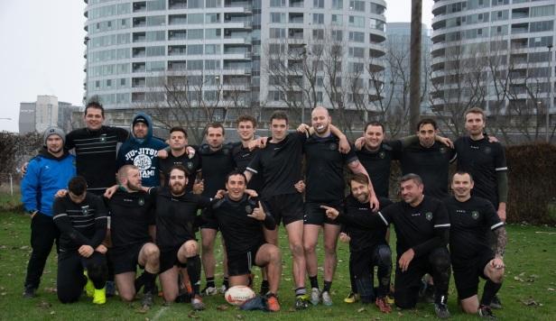 Rugby Klub Bratislava Dec 2019 vs Slovan