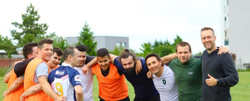 Rugby Bratislava Slovensko Sport trening