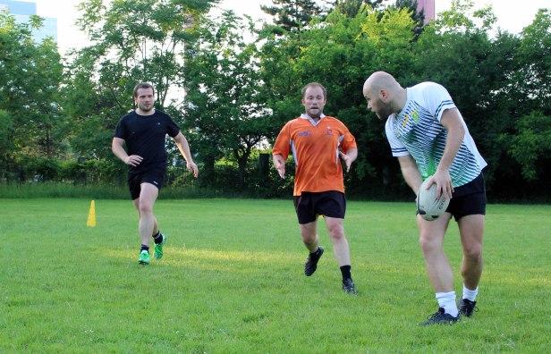 Rugby Klub Bratislava trening