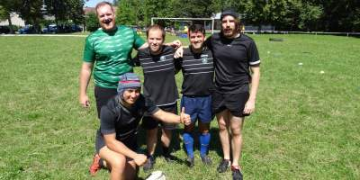 Rugby Bratislava in Zilina - Rugby league
