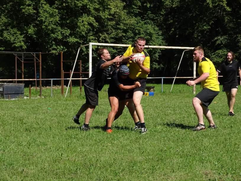 Rugby Klub Bratislava Slovakia Slovensko Zilina training trening