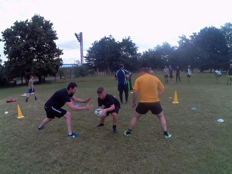 Rugby Klub Bratislava Slovakia Slovensko training trening