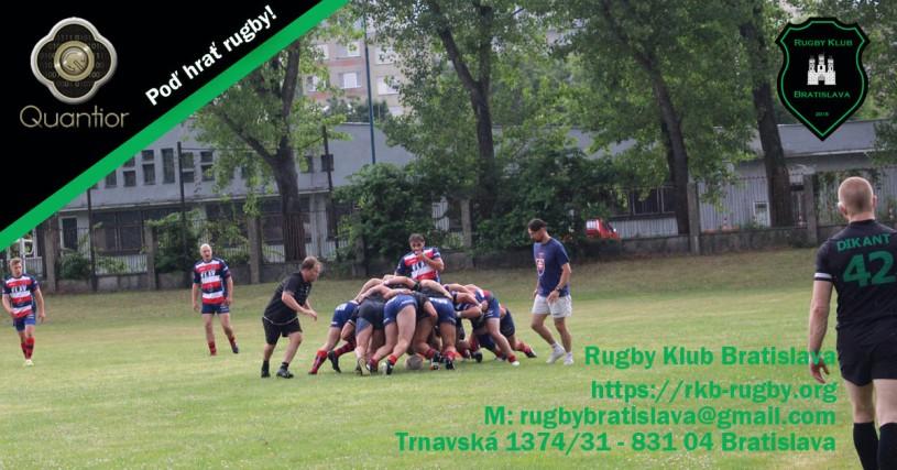 Rugby Klub Bratislava Slovakia sport trening Slovensko Ruzinov Nove Mesto
