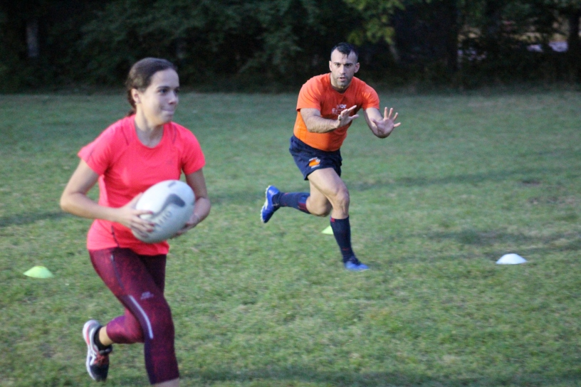 Rugby Klub Bratislava Slovakia sport trening Slovensko Ruzinov Nove Mesto Crossfit prihravka