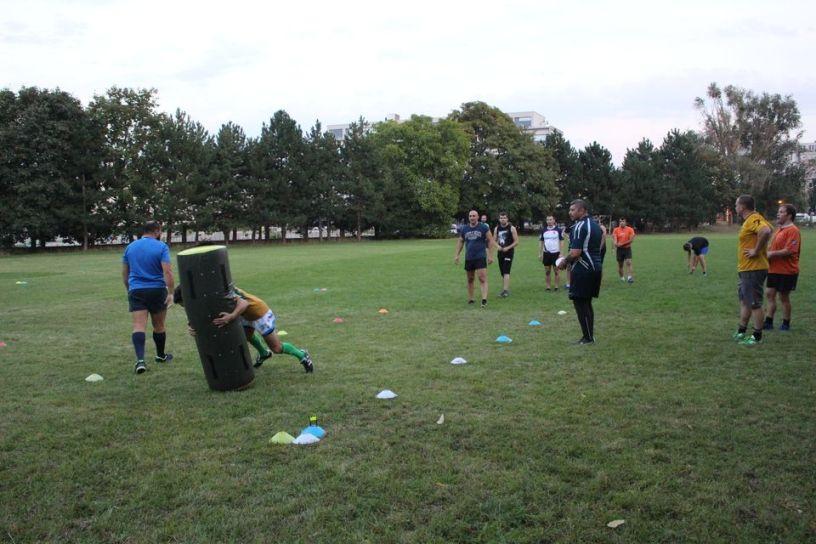 Rugby Klub Bratislava Slovakia sport trening Slovensko Ruzinov Nove Mesto Crossfit