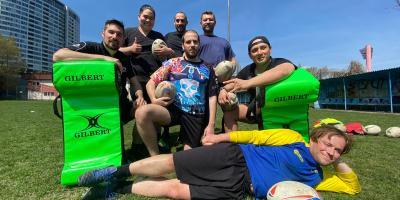 Rugby Klub Bratislava trening April 2021