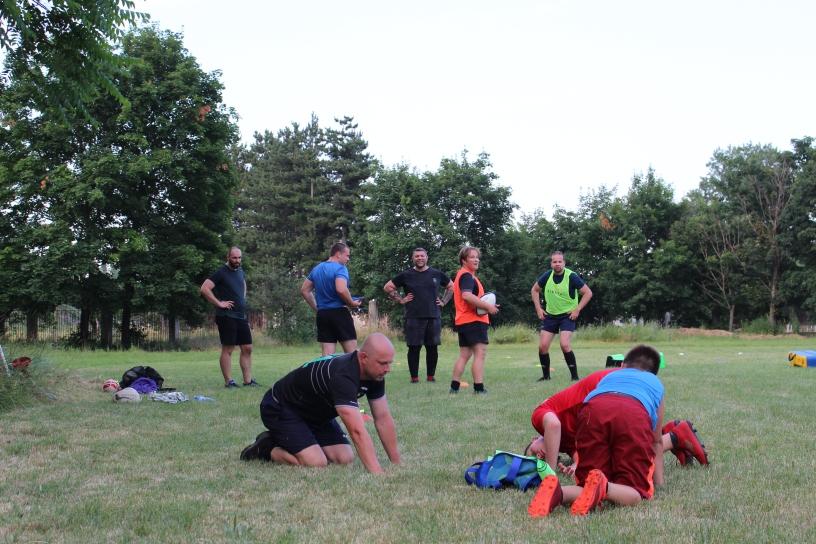 Rugby Klub Bratislava trening pre deti